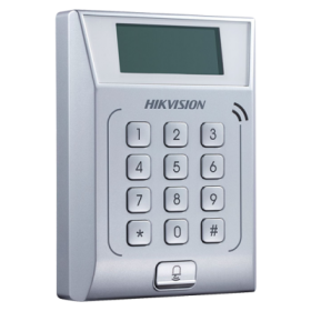 Controler stand-alone TCP/IP cu tastatura si cititor card  - HIKVISION DS-K1T802M